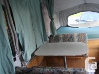 1996 Palomino tent trailer. Tow with almost anything.