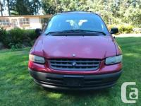 Make Plymouth Model Grand Voyager Year 1996 Colour red