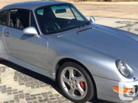 1996 Porsche C4S 6-speed manual Transmission.