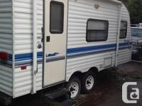 Great trailer ready to go camping no leaks call my cell