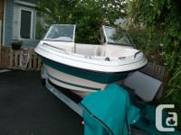 1996 Regal 175 SE 18' Bowrider, full boat top,