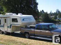 Well maintained RV, light towing, & comfortable for