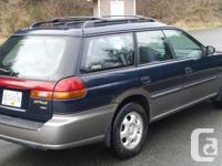 Make. Subaru. Model. Wilderness. Year. 1996. Colour.