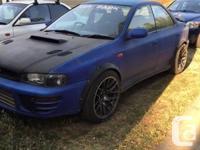 Make Subaru Model Impreza WRX Year 1996 Colour Purple