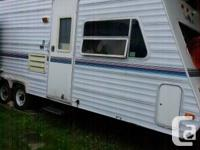 Come look at our 26 ft lightweight travel trailer in