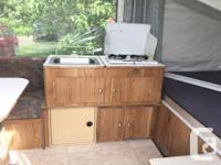 1996 Coleman tent trailer. In great condition, no