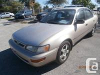 4/DOOR AUTOMATIC...A1 RUNNING COND GOOD IN GAS...245000