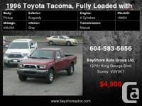 1996 Toyota Tacoma XtraCab V6 Auto 4WD SR5