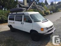 1996 Volkswagen Eurovan Camper in excellent condition.