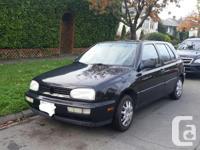 Make Volkswagen Model Golf Year 1996 Colour Black kms