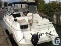 1996 26' wellcraft 260se. Rebuilt 5.7 mercrusier with