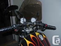 1996 Yamaha Virago XV1100. Under 30,000 kms. Custom