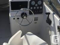 -Boat was built for off shore fishing with fishermen in
