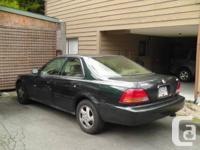 1997 Acura 3.2 TL. Power seats, windows. Leather int