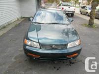 1997 Acura EL  Green / Gray 1997 Acura EL 4dr Sdn Sport