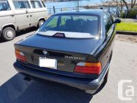 Make BMW Model 3 Year 1997 Colour black kms 156000