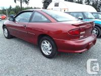 Make Chevrolet Model Cavalier Year 1997 Colour Red kms