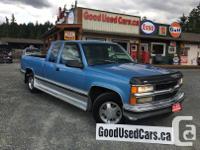 Make Chevrolet Model 1500 Year 1997 Colour Blue kms
