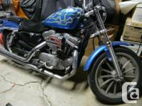 This bike has low mileage and is in great shape. Tank