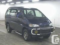 1997 Mitsubishi Delica L400 Exceed 45km   Description
