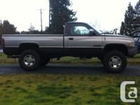 Make. Dodge. Design. Ram. Year. 1997. kms. 350. 4x4