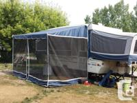 1997 dutchman tent trailer. 12 foot box with 2 foot