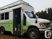 1997 E350 7.3 powerstroke minibus RV conversion