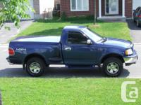 Make Ford Model F-150 Colour Blue Trans Automatic kms