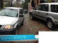 Make Honda Model CR-V Colour grey kms 250 I am looking