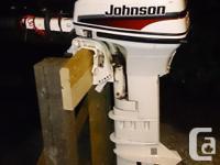 1997 Johnson 9.9 hp 2 movement Exceptional problem