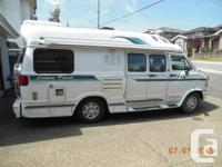 20' motorhome,  (wide body van conversion). This has a