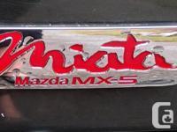 Make Mazda Model MX-5 Miata Year 1997 Colour Green kms