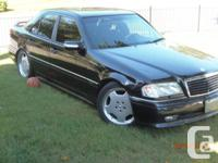 Here is a 1997 Mercedes C 36 AMG  *****one of only 199