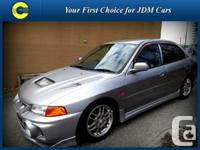 1997 Mitsubishi Lancer Evolution IV This is the real