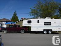 Well maintained and well built Fifth Wheel for sale.