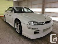 1997 Nissan Silvia Sr20det, turbo 2.0 L, ground
