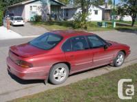Make Pontiac Model Bonneville Year 1997 Colour Red kms