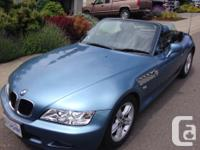 Make BMW Model Z3 Colour Blue Trans Automatic kms