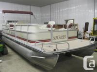 1997 SunCruiser Trinidad 22' Fish & Cruise Pontoon Boat