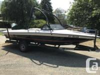 350 Chevy Boat has 700hrs. New starter, New packing