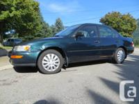Very Clean and well maintained 1997 Toyota Corolla DX.