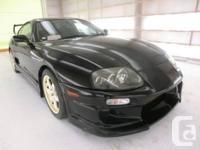 "1997 Toyota Supra MK4, twin turbo, 90,000 kms, 18"" TRD"