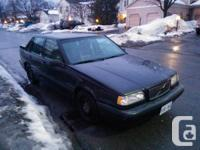 1997 Volvo 850 Sedan, Slate-grey - Exported from United