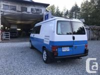 1997 VW Eurovan diesel, long wheel base pop up GTRV