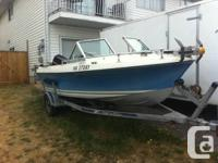 1977 glass ply new floor solid boat deep v very good in