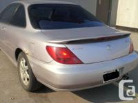 Make Acura Year 1998 Colour Silver kms 230000 Acura CL