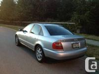 Selling my 1998 Audi A4 1.8T Quattro. $4500 o.b.o. Very