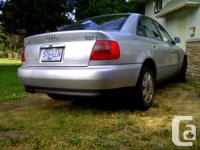 Audi A4 1.8T Quattro Price is OBO. 247k km, on