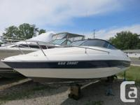 5.0L Mercruiser, Cuddy with P/O head, fiberglass lined