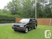 STILL AVAILABLE-1998 Pathfinder, black, automatic
